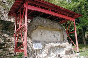 大森山の磨崖仏