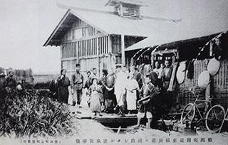 明治44年仮浴場